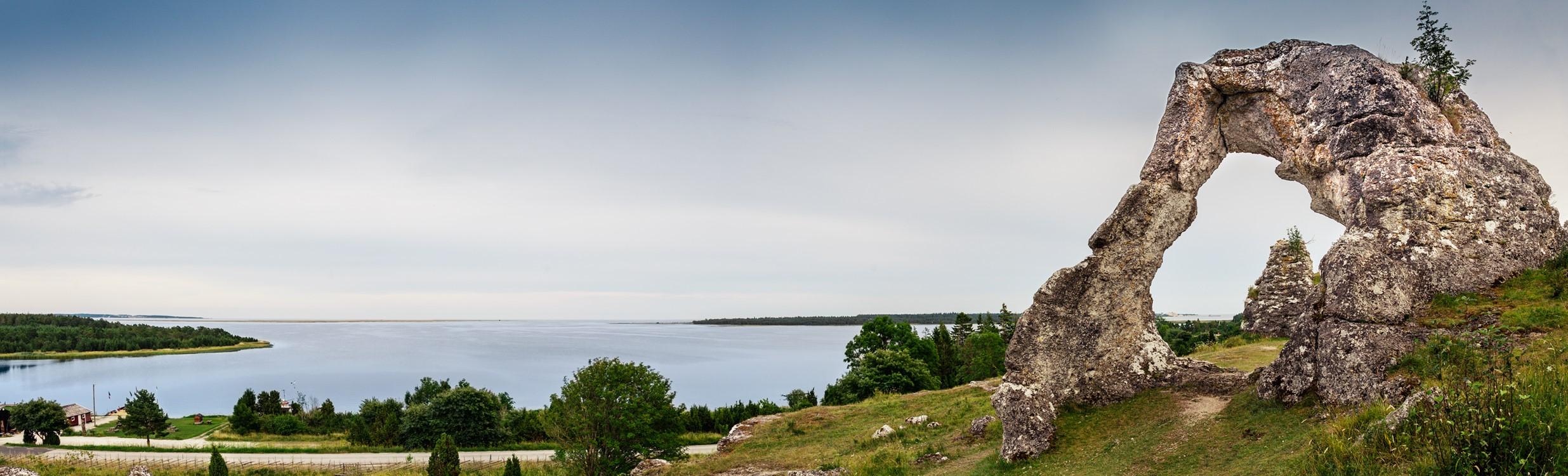 Den store Gotlandsrejse, juni, Gotland fra nord til syd
