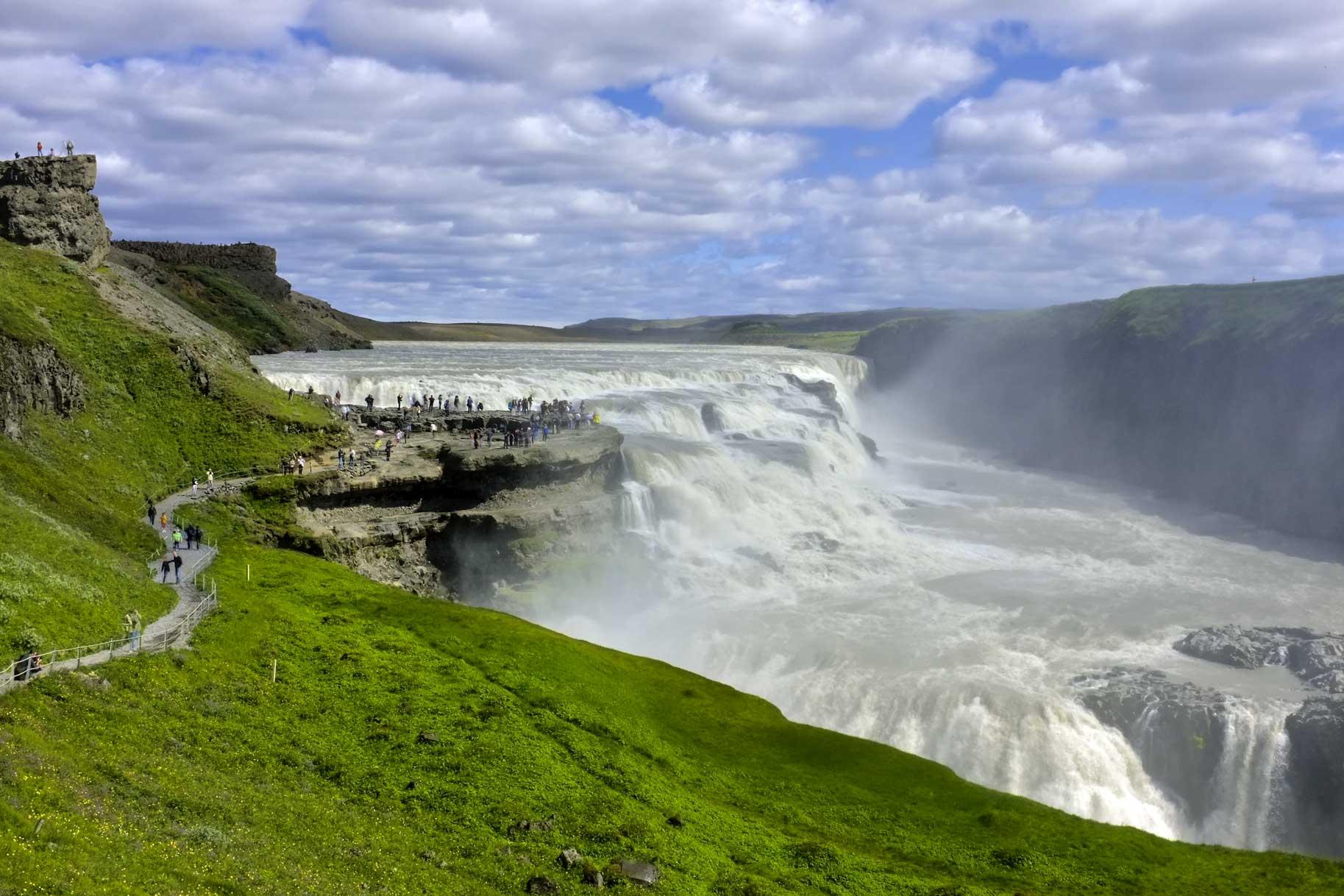 Island, naturens urkræfter, 8 dage, bus fra Billund, fly fra Kastrup