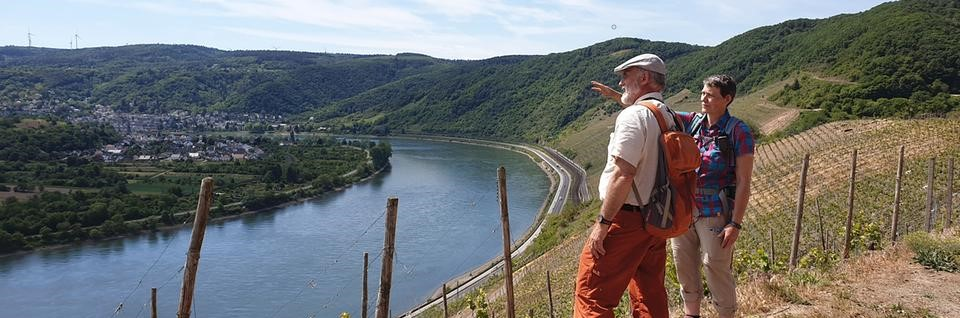 Vin og vandring i Rhindalen, oktober, Hildegard von Bingen, Gutenberg, Loreley